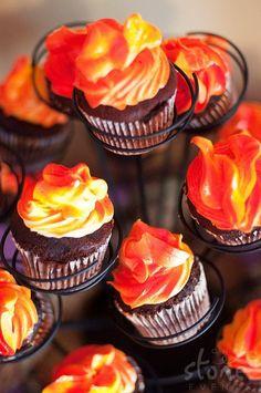 edible Campfire Cupcake - Bing Images