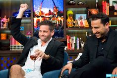 We're seeing double--Joshes that is--Josh Flagg and Josh Altman let loose at the Bravo Clubhouse to celebrate the premier of the latest Season of Million Dollar Listing Los Angeles.