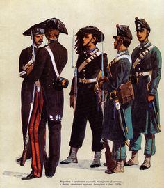 Parzifal purissimo. Blog a cura di Giovanni Pititto.: Carabinieri. Uniformi storiche.