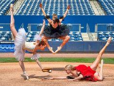 Baseball x Ballet