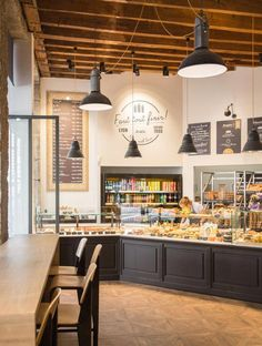 Discount Fall Home Decorations Bakery Shop Interior, Bakery Shop Design, Coffee Shop Interior Design, Restaurant Interior Design, Cafe Design, Store Design, Design Design, Bakery Store, Bakery Cafe