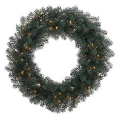 Blue Crystal Prelit Wreath *** This is an Amazon Affiliate link. You can get more details by clicking on the image.