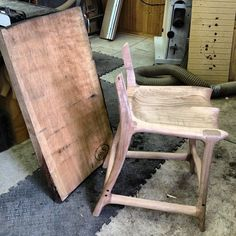 """72 Likes, 1 Comments - Canadian Woodworks (@canadianwoodworks) on Instagram: """"From raw timber to beautiful bar stool. #wood #cherry #woodshop #woodworking #finewoodworking…"""""""