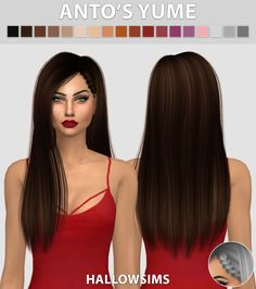 Hallow Sims: Anto's Yume  - Sims 4 Hairs - http://sims4hairs.com/hallow-sims-antos-yume/