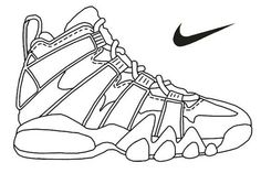 online store 6613f 06b1d Zapatillas Nike, Zapatos, Cubismo, Abstracto, Ilustración Digital, Pintura  Acuarela, Murales