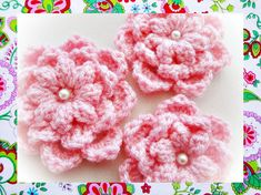 Graceful Flower Crochet  Pattern by wonderfulhands on Etsy, $3.90