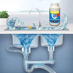 Save Over & Multifunctional Detergent Powder for Strong Bacteriological Removal - cool Bricolage Playdoh cooles Handwerk diy furniture DIY-Bilder Heimwerkerprojekte mach es selbst Natural Cleaning Solutions, Natural Cleaning Products, House Cleaning Tips, Cleaning Hacks, Toilet Stains, Bathtub Drain, Drain Cleaner, Septic System, Soap Scum