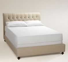 | Copy Cat Chic | chic for cheap: Restoration Hardware Chesterfield Upholstered Bed
