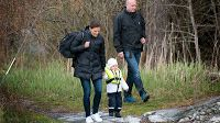 May 8, 2014  Victoria, Daniel and Estelle take a boat trip Crown Princess Victoria, Prince Daniel and little Estelle have been pictured taking a boat trip.