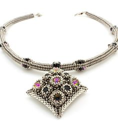 Reign Necklace - Beads Gone Wild  - 2