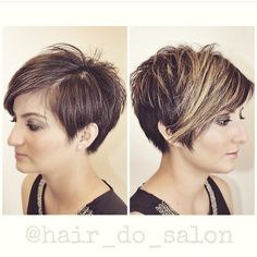 "95 Likes, 6 Comments - Hair-Do (@hair_do_salon) on Instagram: ""Raise your hand if you want a pixie.  I know I do. #pixie #nothingbutpixies #modernsalon…"""