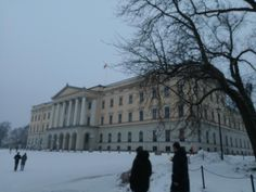The royal palace of Norway