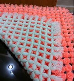 DIY Pom Pom Blanket - The Idea King