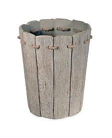 Destinations Driftwood 2 Waste Basket & Reviews - Bathroom Accessories - Bed & Bath - Macy's Rustic Bathroom Accessories, Bathroom Containers, Shower Nozzle, Shops, Dining Room Bench, Wood Bathroom, Rustic Charm, Bed & Bath, Decoration