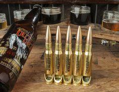 5-Pack of Custom Engraved .50 Caliber Bottle Openers