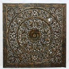 @Overstock - The awe-inspiring artistry of this lotus panel takes home decorating to a whole new level. Make a statement with the superior craftsmanship of this handmade teak wood panel.http://www.overstock.com/Worldstock-Fair-Trade/Recycled-Teak-Wood-Black-Stain-Natural-Wax-Lotus-Panel-Thailand/5399841/product.html?CID=214117 CAD              461.24