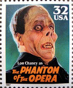 The Phantom Of The Opera - Stamp