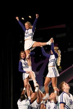 Cheerleader slips school high
