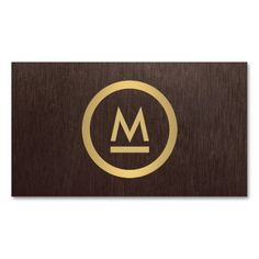 Modern Initial Business Card Template - Personalize with your initial on the front and your info on the back. Great networking cards for a variety of industries.