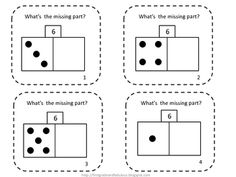 These task cards review missing number using the part-part-whole formation.  It is on facts to 9.  These are also good to use as a game review with...