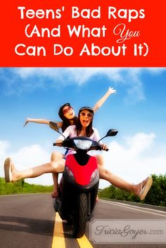 """Many times, teens get a bad rap for being irresponsible. """"Teens drive too fast, party too hard, and don't make wise choices about their future..."""" So what can you do about it as a parent?"""