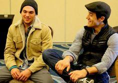 Dylan Sprayberry e Keahu Kahuanui no BeaCON Chills