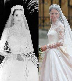 El vestido de novia de Kate Middleton: copia y copiado
