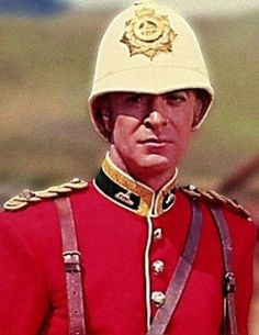 Zulu- Michael Caine's first starring role. He played Lt Gonville Bromhead, one of the recipients of the Victoria Cross for his involvement at Rorke's Drift.