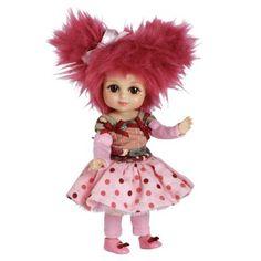 Brinquedo Marie Osmond Doll 6 Standing Ruella Raspberry Bitty Belle Mop Top #Brinquedo #Marie Osmond
