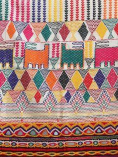 Vintage Rabari Dowry Bag with Hand Embroidery