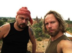 An interview with the crazy Finnish guys, Riku and Tunna from the Travel Channel Show, Madventures. True Gonzo and extreme adventure travellers! Travel Channel Shows, Movie Tv, Interview, Adventure, Guys, Couple Photos, Tart, Blog, Pie