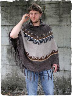 Alpaca Poncho, Alpaca Wool, Online Sales, More, Italian Style, Lana, Fashion Clothes, Men