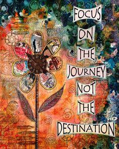 centrarse en el viaje no en el destino