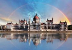 Budapest is the capital of Hungary. The majestic Danube river run through the city, dividing it into Buda and Pest. Budapest Holidays, Visit Budapest, Budapest Travel, Danube River Cruise, Capital Of Hungary, Little Paris, Reisen In Europa, Central Europe, Places To See