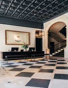Architect Tolo Cursach and interior designer Maria José Cabré reimagined an 1880 home for nobility to create the five-star Hotel Sant Francesc Singular in in Palma, on the Spanish island of Majorca. From $315/night; hotelsantfrancesc.com