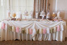 Dessert table - beautiful wedding