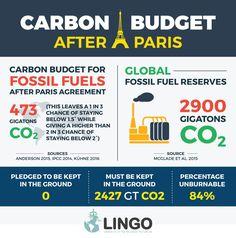 Post-Paris Carbon Budget