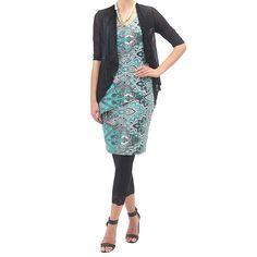 Jersey Lace Hem Legging #catwalk
