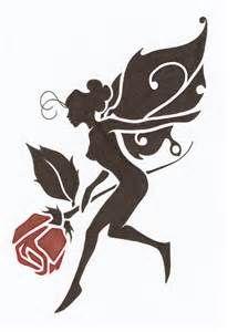 fairy silhouette | Pazzle Power | Pinterest