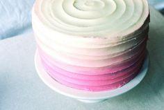 Ombre Cake by yossy | apt2bbakingco, via Flickr