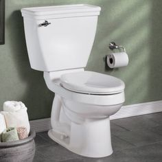 American Standard Champion Slow Close Elongated Toilet Seat with Cover &…