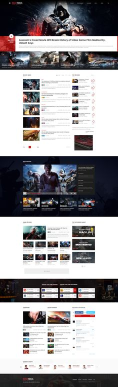 Introduction DailyMagz is modern PSD template has been designed for Newspaper…