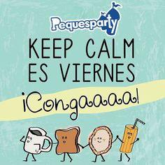 """""""Viernes!"""" esa palabra que hace que queramos bailar la #conga. #viernes #friday #findesemana #weekend #mcbo #vzla #cool #yeah #felizviernes #zulia #felizdia #pequesparty"""