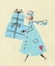 Cargando regalos