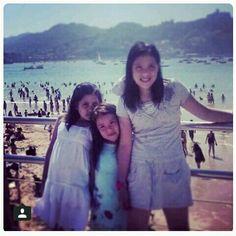 Recordando cuando fui a las playa de biarri (francia)✌