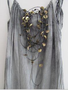 dress, necklace