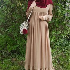 69 trendy how to dress boho chic fashion Hijab Elegante, Hijab Chic, Hijab Style Dress, Boho Dress, Islamic Fashion, Muslim Fashion, Niqab Fashion, Fashion Outfits, Modest Fashion