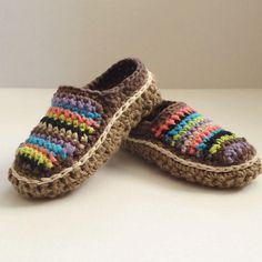 Crochet Moccasins Tutorial Free Pattern Video Instructions