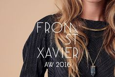 You can also see @fromstxavier AW16 collection in Scoop with us   #scooplondon #somewhereagency #fromstxavier #aw16 #rocconecklace