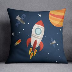 Etsy - rocket pillow